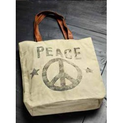 Canvas-Tasche - Peace