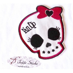 Patch - Totenkopf - Pin up!...