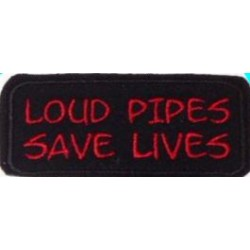 Patch - LOUD PIPES SAVE LIVES